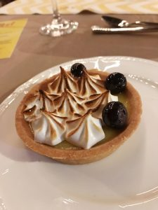 Lemon Tea Meringue Tart